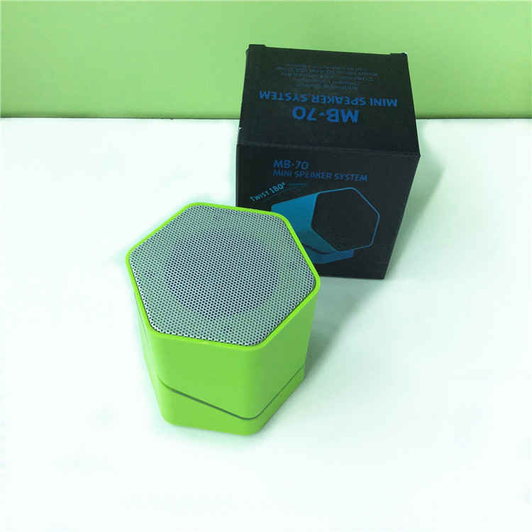 3D sound technology mini Twist Bluetooth speaker Test Music Speaker with TF card slot