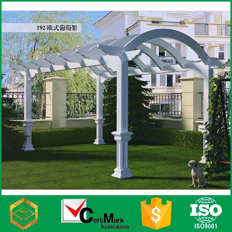 Luxury decoration balcony aluminum pergola for sale