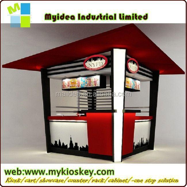 Fresh Crepe Food Kiosk For Sale Mall Food Kiosk