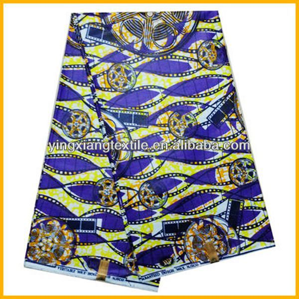 100% cotton 113-114GSM veritable real African wax printing fabric