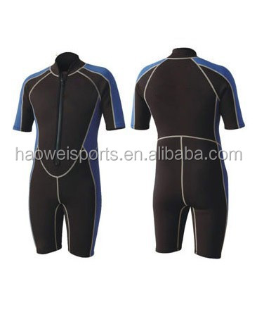 aropec triathlon wetsuit 2mm shorty in SBR SCR or CR neoprene