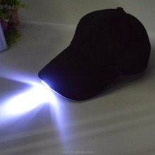 Hands Free LED Lighted Baseball Cap Led Night fishing working Caps