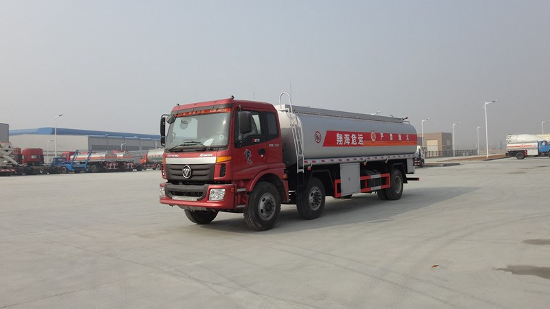 Foton capacity 5000 liters fuel tanker truck tanker truck dimension for sale