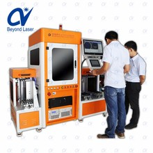 Water cooling CNC automation system 1W 3W 5W 10W UV laser marking engraving machine