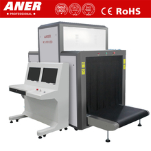 Max load 200KG and best price ANER K100100 x-ray scanner for airport baggage large parcel and cargo security check