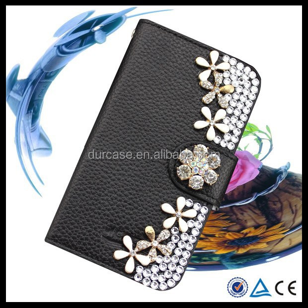 Wallet Credit Card Holder flip cover Bling bling phone case for Nokia lumia N900