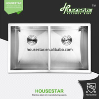 Prefab Houses cupc Undermount Stainless Steel 304 Double Kitchen SInk