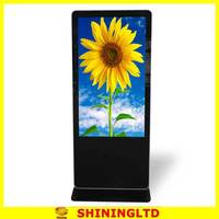 california wholesale distributors 55 inches led advertisement display touch kiosk