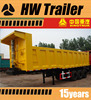 With Quality Guaranteed High Payload 3 Axles Rear Dumper Side Dumper Semi Truck Trailer