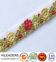 JR131 ribbon work embroidery designs/jacquard ribbon