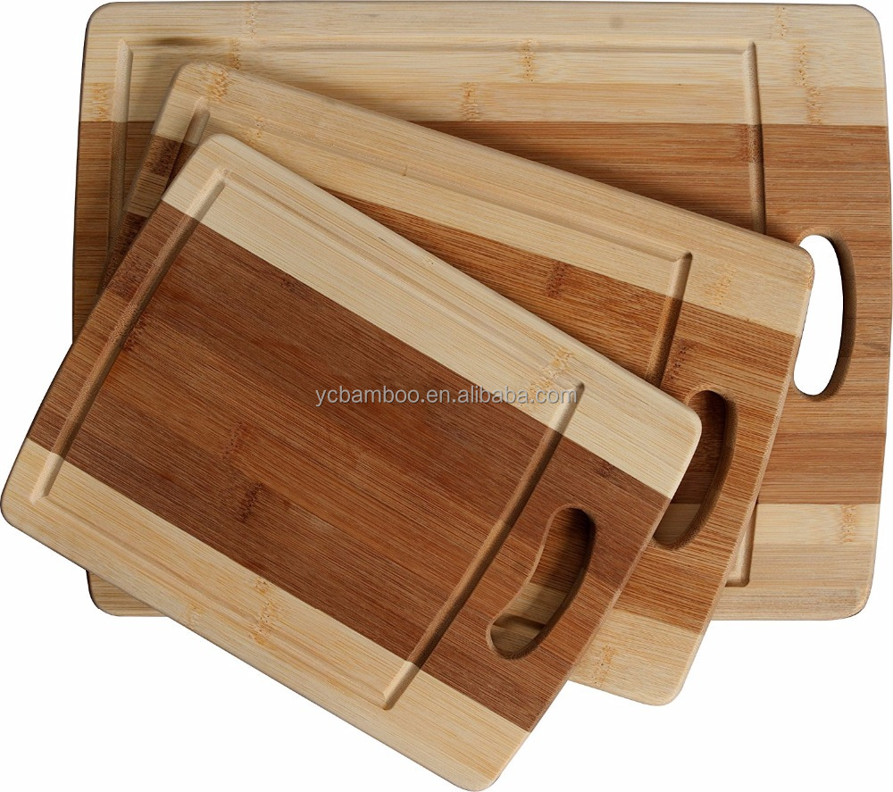 Environmental Apple Shaped Fruit Bamboo Joint Cutting Board