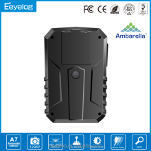 Eeyelog newest very small built-in GPS body camera security