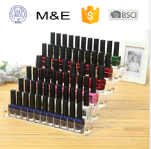Acrylic 6 Layers Display Showcase for Shop Sale Nail Polish Organizer