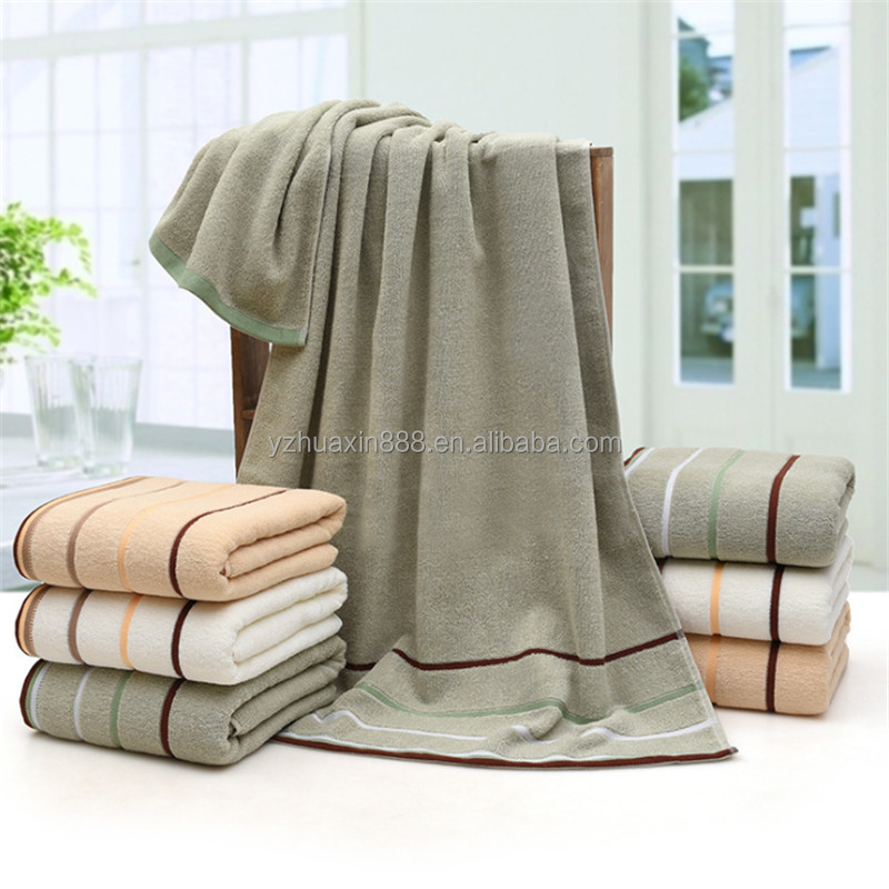 100% cotton bath towel for home and hotel use