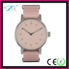 cool Nato strap fashion lady pink color vogue watch hot in USA