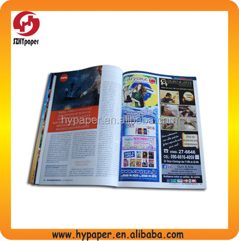 2014 hot wholesale magazine printing