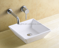 popular ceramic material art basin small size wash basin sink bathroom ceramic bath set