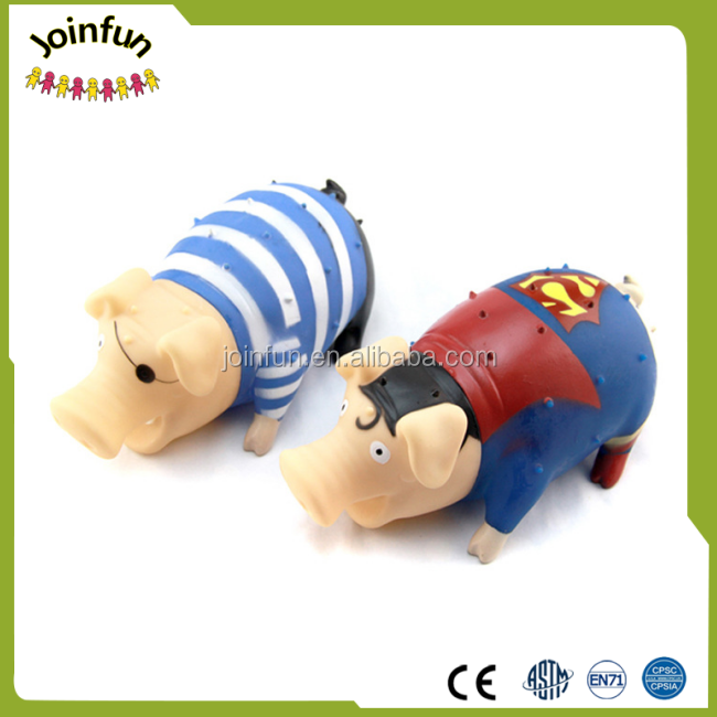 Custom Made Plastic pig toys, promotion elephant gift plastic toy, animal vinyl toys for kids