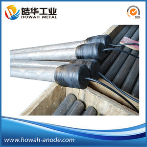 high silicon cast iron anode for corrosion prevention