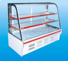hot sale curved insulation glass for cake display cabinet
