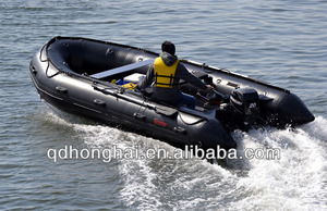 promotion boats 430 military inflatable boat with CE