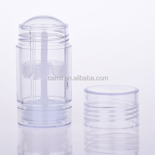 wholesale 30ml transparent stick deodorant container packaging