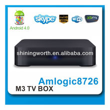 google android 4.0 smart TV box with built-in wifi