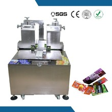 Hot met glue food carton box heat sealing machine