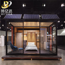 light steel appartment building heat proof containers prefab house