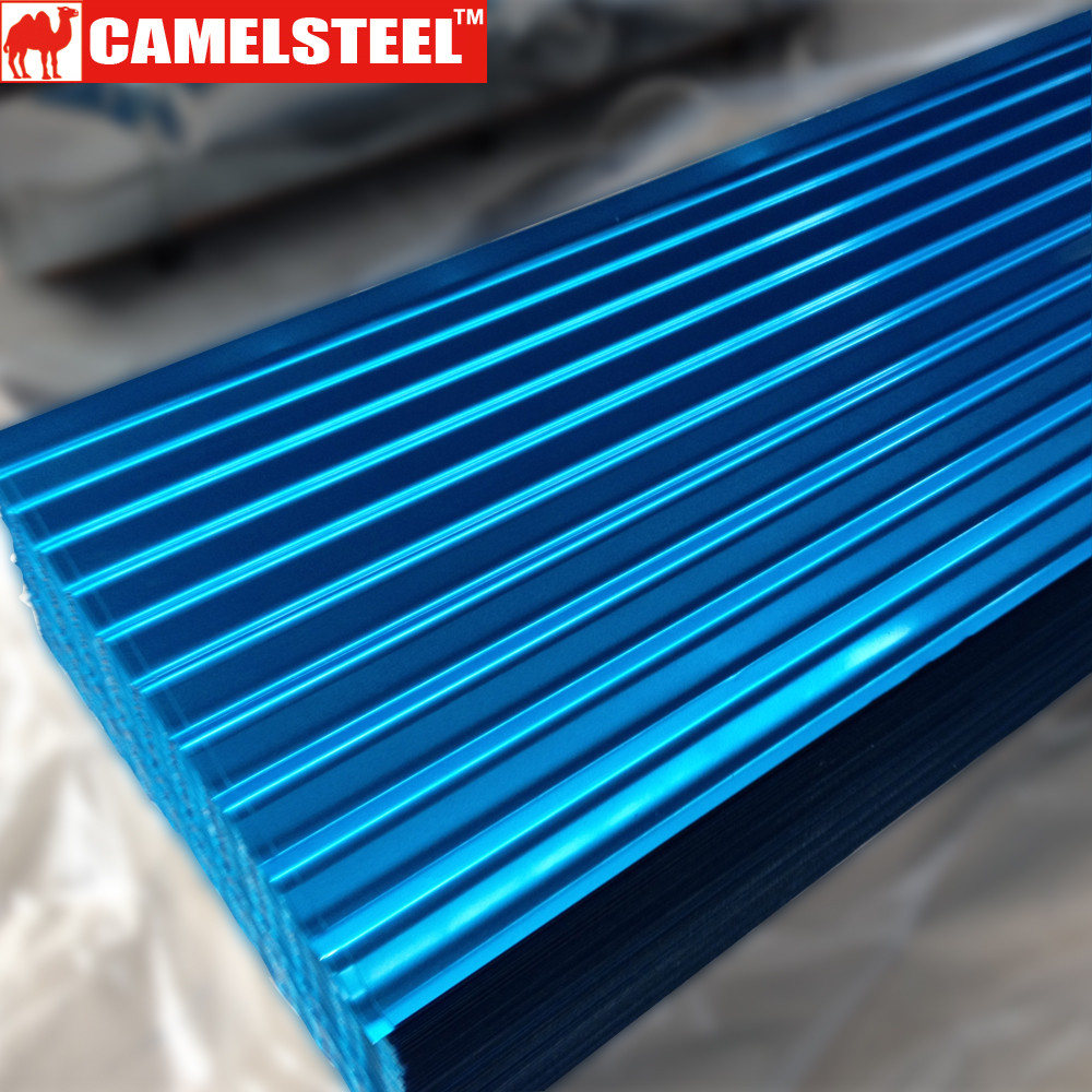 Corrugated Zinc Roof Steel Tile For Construction Material