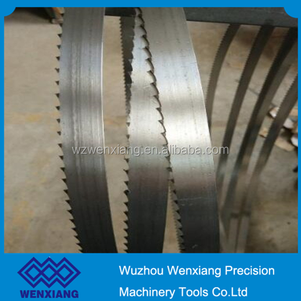 High-carbon steel blades large fish cutting band saw blade