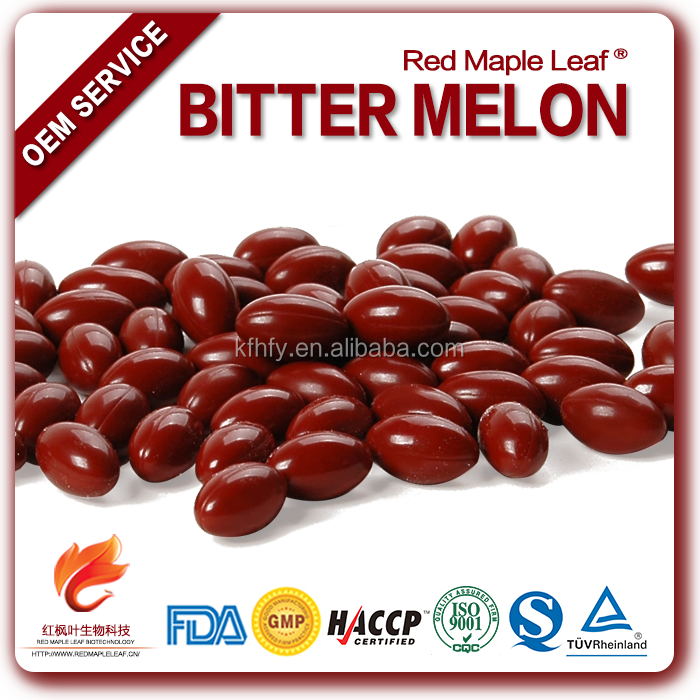 Vegetable Extracts Bulk Packing Bitter Melon Capsules