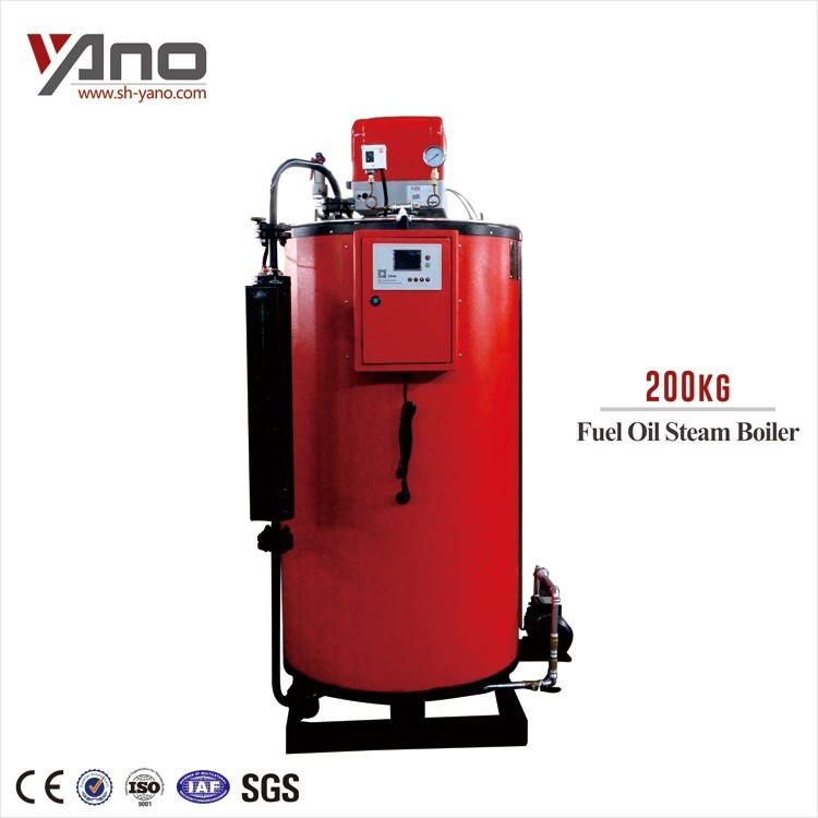 Water Tube Three Pass 100KG 200KG 300KG 500KG Industrial Gas/Oil Fired Steam Boiler Price