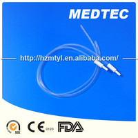 Disposable single packed oxygen soft nasal cannula medical grade 100% pvc OEM brand hot sale