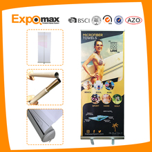 Electric Scroll Moving Roll Up Banner Stand,Retractable banner stand