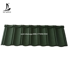 Building Materials Factory Directly Sell Stone Coated Steel Classical Types Of Roofing Covering Sheets Tiles