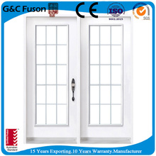 fancy tempered glass used aluminum windows with grill design
