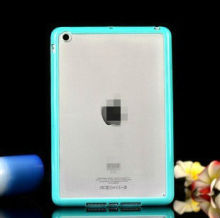 Clear Transparent Crystal Soft Skin Case Cover soft bumper Hard Shell For new iPad Mini