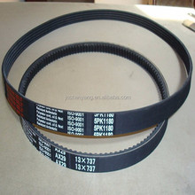 high quality 4pk 5pk 6pk 8pk fan rubber cheap price timing belt