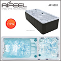 Hot sale freestanding acrylic balboa system Whirlpool massage outdoor hot spa pool