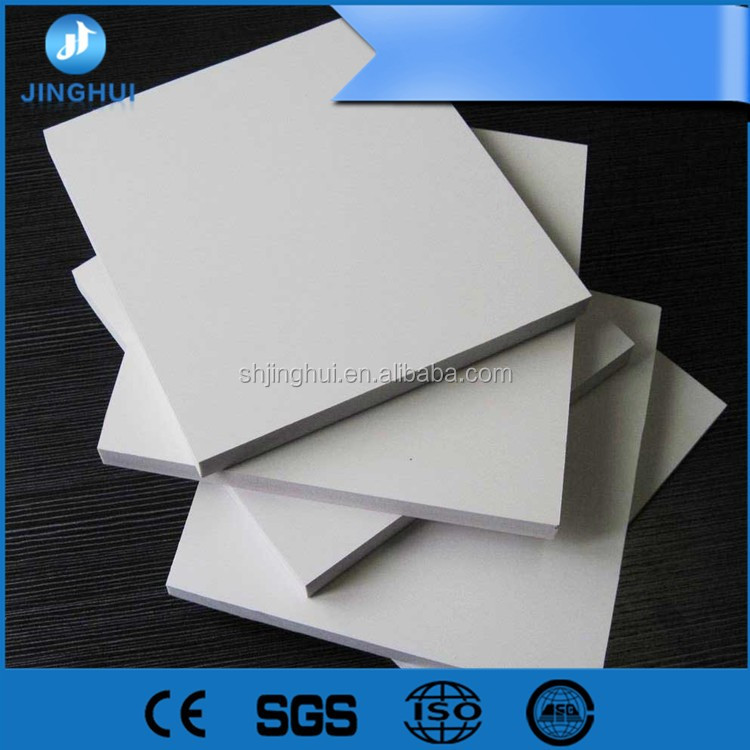 white waterproof pvc celuka plate /pvc foam board/ PVC foam sheet for construction Quality Assured