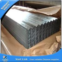 Third party inspected galvanized corrguated metal roofing sheet from China