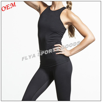 Wholesale high quality dry and comfortable women yoga singlet