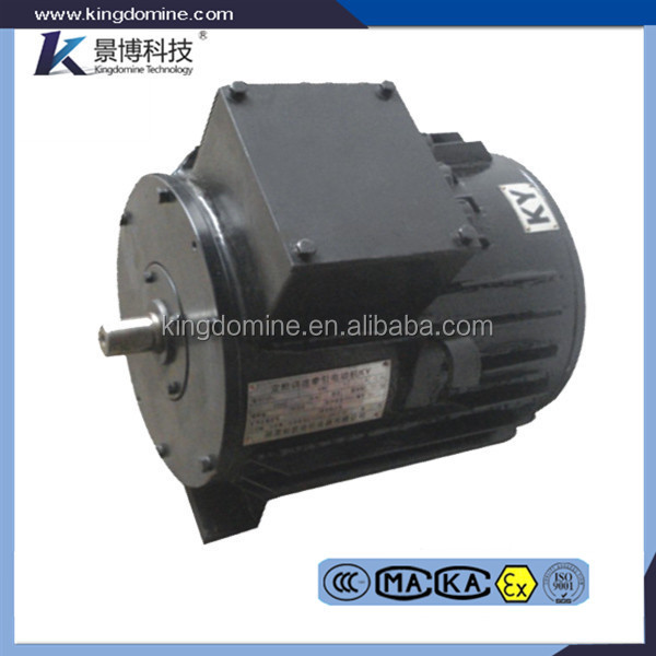Explosion proof electric AC traction motor for battery locomotive&trolley locomotive