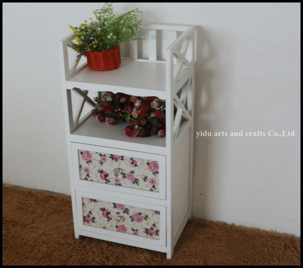 Bedroom Cabinet Modern Home Furniture White Wooden Storage Cabinet