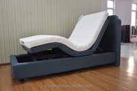 Adjustable electric folding bed