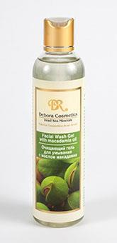 Facial Wash Gelwith Macadamia Oil and Dead Sea minerals