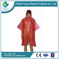 disposable extra large rain poncho for girls