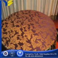 Organza Fabric hot sale Plain printed pvc table cloths yiwu
