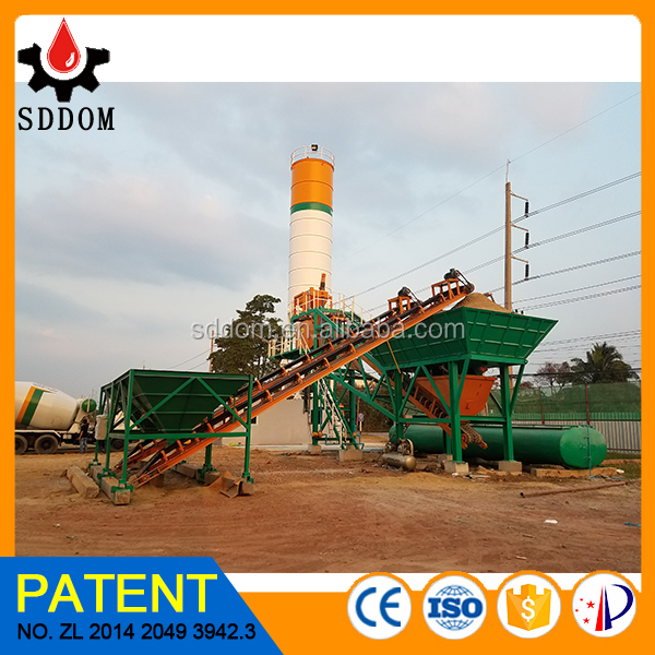 used stationary concrete batching plant for sale